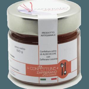 confettura extra di albicocche e zafferano - 100g