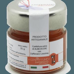 confettura extra di albicocche e zafferano - 35g