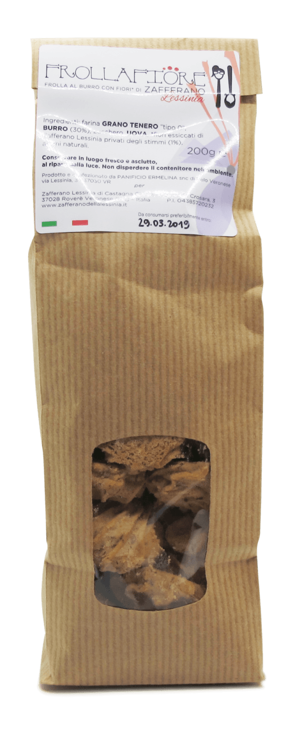 confezione biscotti frollafiore - 200g