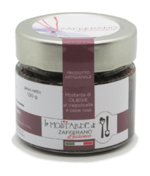 mostarda di ciliegie - 100g
