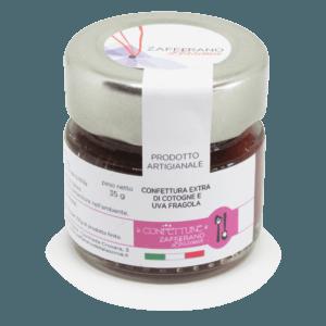 confettura extra di cotogne e uva fragola - 35g