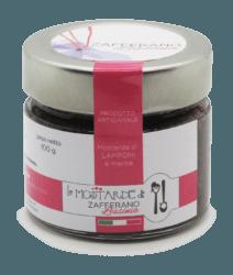 mostarda di lamponi - 100g