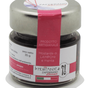 mostarda di lamponi - 35g