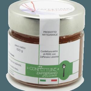 confettura extra di pere e zafferano - 100g