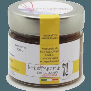 mostarda di pomodorini gialli - 100g