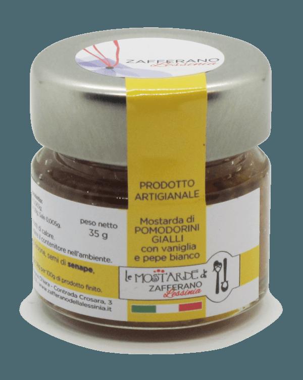 mostarda di pomodorini gialli - 35g