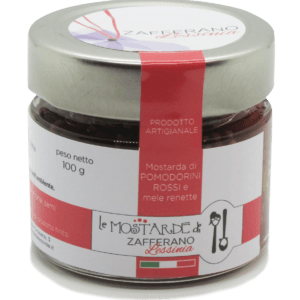 mostarda di pomodorini rossi - 100g