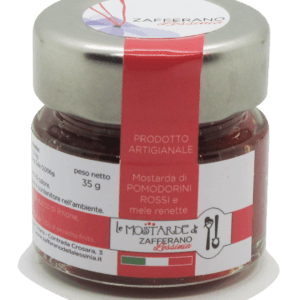 mostarda di pomodorini rossi - 35g