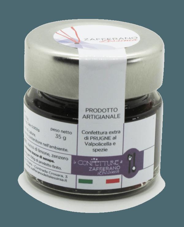confettura extra di prugne - 35g