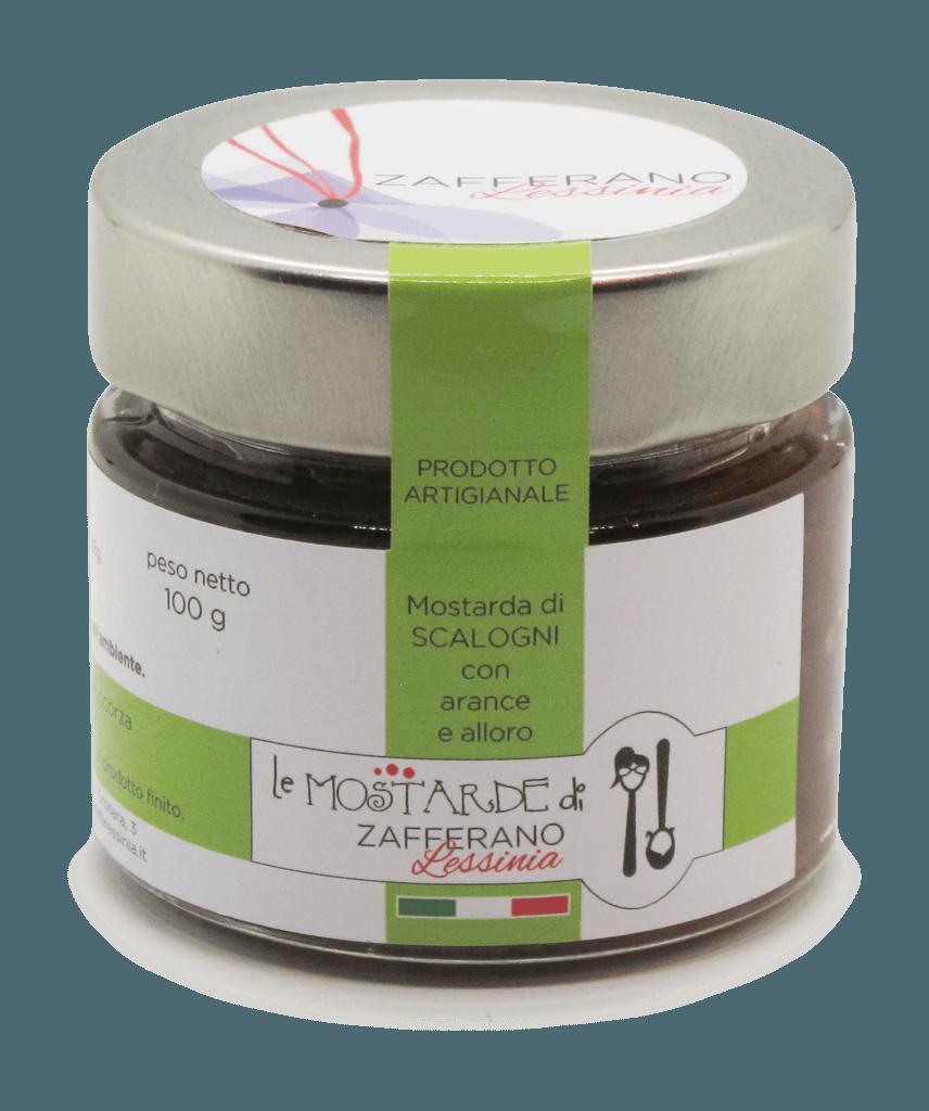 mostarda di scalogni - 100g
